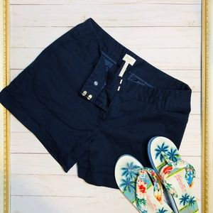 Laundry By Shelli Segal Navy Shorts